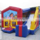 Happy birthday inflatable bouncer, jumping castle indoor mini bouncy castle,/Kids inflatable bouncer