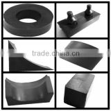 high quality (EPDM,silicone,NR,NBR and recycled rubber) profile various solid rubber block