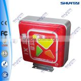 square outdoor vacuum formed advertising light box