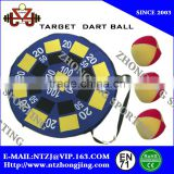 Cheap Popular inflatable Dart game with 3 catch ball/dart Board/magnetic Dart Ball Set/air dart ball