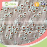 Beauiful cotton material veil lace embroidery lace fabric                                                                                                         Supplier's Choice