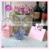 High quality laser cut paper wedding box/ invitation card /cupcake wrapper / seat card /name card a whole set many styles ZH-1