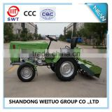 Hot sale mini tractor with rotary tiller for belarus market