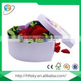 Customized all kinds of valentines day luxury fresh flower packaging box