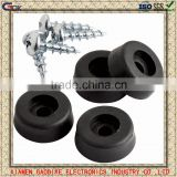 factory customized silicone rubber bumper/M4 screw rubber bumper/anti-slip rubber damper