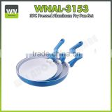 Eco-friendly and high quality ceramic fry pan aluminium ceramic pan with factory price aluminium fry pan set