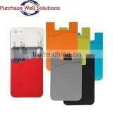 Reusable & Washable & Durable, silicone pouch for mobile phone