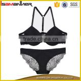 Custom sexy bra panty your design seamless push up sexy bra panty girls                                                                                                         Supplier's Choice