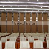 china manufacturer aluminium high quality folding door partition for church buildings