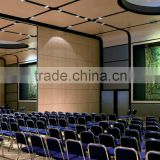 china manufacturer aluminium high quality folding wooden partition for Multi-functional Hall