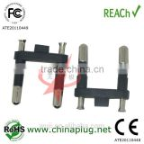 INquiry about The usual male korea two pin plug