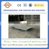 corrugated carton box cutting machine