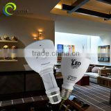 Functional led rechargeable bulb light high quality convenience use e27 7w/9w ce rohs ,led rechargeable handle light e27 bulb