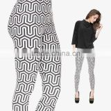 factory 3d digital full print colorful brand name tights woman leggings best leggings brand                                                                         Quality Choice