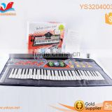 61 keys keyboard with microphone music instrument for kids baby musical piano