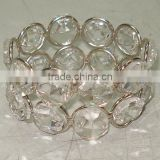 Napkin Ring, Ring Napkin Holder, Crystal Napkin Holder