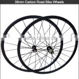 Hot sale lightweight bike wheels professional carbon road bike wheels for training