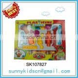 Plasticine modeling clay play dough set with high quality