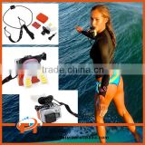 2015 New Mouth Mount Surfing Diving Selfie Shoot Set Gopros Surf Dummy Bite for GoPro Heros 4 3 3+ SJ4000 Xiaomi yi