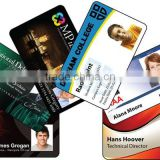 plastic photo ID cards/employee id card