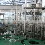 SXHF high efficiency Beer washer,filler,capper 3 in 1 machine, glass bottle 3 in 1 machine, negative pressure filling machine