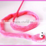 2013 soft and funny cat teaser toy with plastic stick