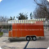 2013 Fashionable Ice Cream Cold Room Catering Dining Vending Box Van Trucks Body XR-FV400 A