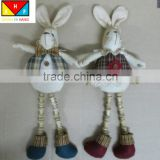 Wholesale lovely plush rabbit stuffed toy easter bunny soft toys