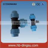 Irrigation system HDPE Pipe fitting PP Compression irrigation pp fittings Fittings                                                                         Quality Choice