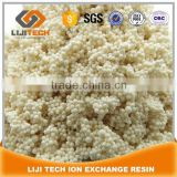 Specially for gold extraction Wake base anion ion exchange resin, Wake base anion ion exchange resin