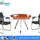 PG-9D-10A,Fashionable Peiguo small round office meeting table,two person desk,movable desk tables