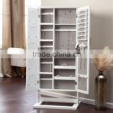 Floor standing Cheval Mirror jewelry armoire plans, traditional jewelry storage                                                                         Quality Choice