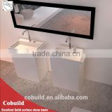 toilet hand wash basins rectangle artificial stone wash basin,freestanding hand wash basin