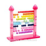 Wooden Castle Abacus Preschool Educational Counting Toys                                                                                                         Supplier's Choice