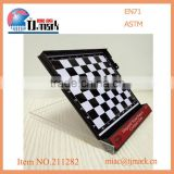 Magnetic mini travel size desktop chess board game