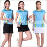 fashion and top quality for women badminton wear or women t shirt with digital printing machine prices in china