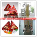 Chocolate candy triangle bag automatic packaging machine