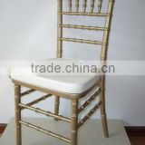 with cushion bamboo dinner chair HE-300