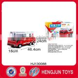 Hot sell 108pcs Eco-friendly Paper+ESP 3D puzzle toy fire trucks diy toys for promotion with EN71/6P