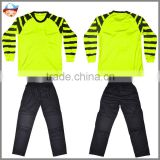 youth goalkeeper jersey soccer,wholesale goalkeeper jersey for children ,china cheap kids goalkeeper jerseys