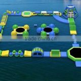 QH inflatable floating water park game for adults and kids/water park equipment/amusement aquatic parks equipment