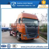 JAC 4X2 sewage truck / Vacuum sewage suction truck                                                                         Quality Choice
