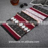 Fashion Men's Comfortable warm Cashmere Print Double sided Scarves                                                                         Quality Choice