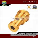 high precision CNC machining small brass machinery turned parts for custom made