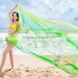 Sexy Women Lady Chiffon Scarves Bikini Swimwear Sun Dress Beach Scarf Veil Wrap