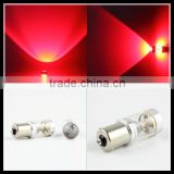 auto lighting for cars high power red color 1156 30W CANBUS CRE.E led brake light BA15S led turn signal light