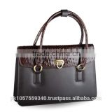 Have one to sell? Sell now Womens Satchel Bag Tote Shoulder Leather Original Ostrich Print Ladies Purse