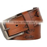 New Mens 40mm Wide Fake Leather Belt Same Quantity With Name Brand