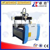 Color Optional MDF Acrylic Wood CNC Router Machine ZK-6090 600*900MM With Mach3 Control System