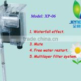 XP-06 Aquarium Jeneca Aleas Water Electric External Power Fish Tank Circulation Pump Waterfall Effect Filter